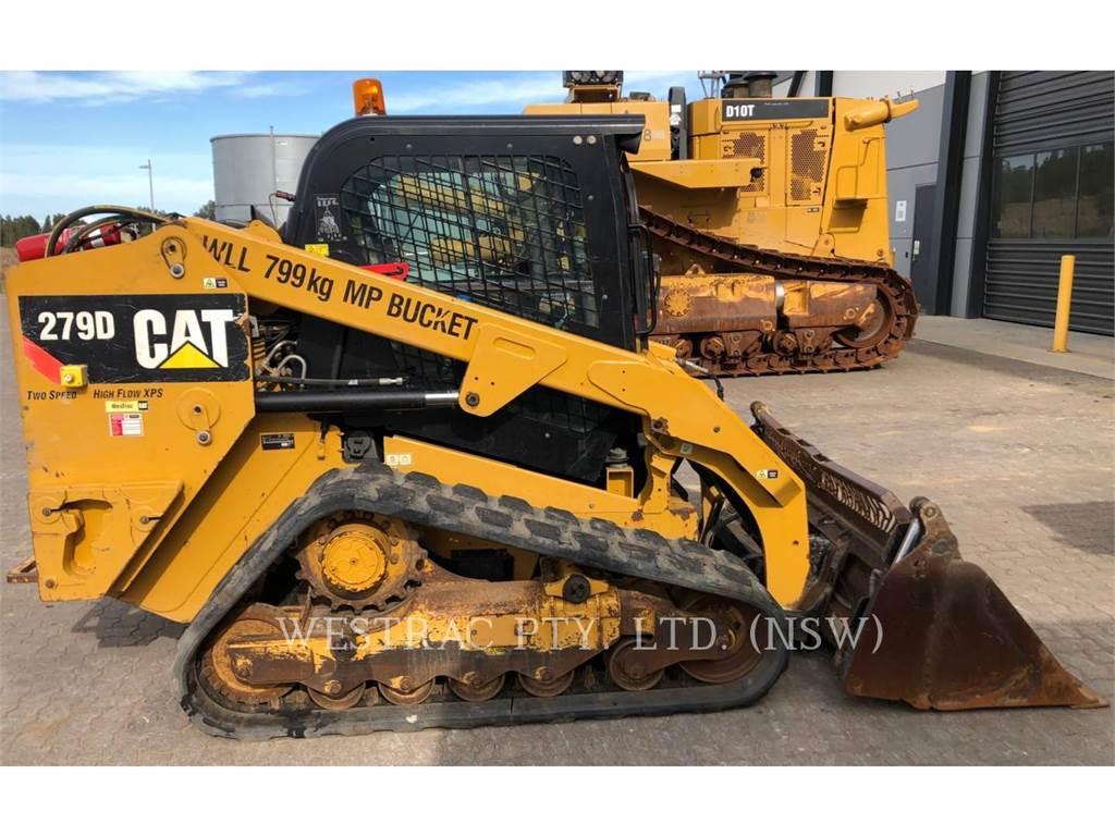 Caterpillar 279DLRC, Skid Steer Loaders, Construction