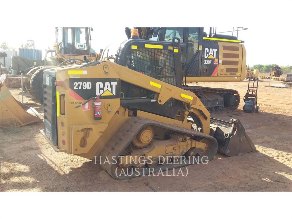 Caterpillar 279DLRC, Skid Steer Loaders, Construction