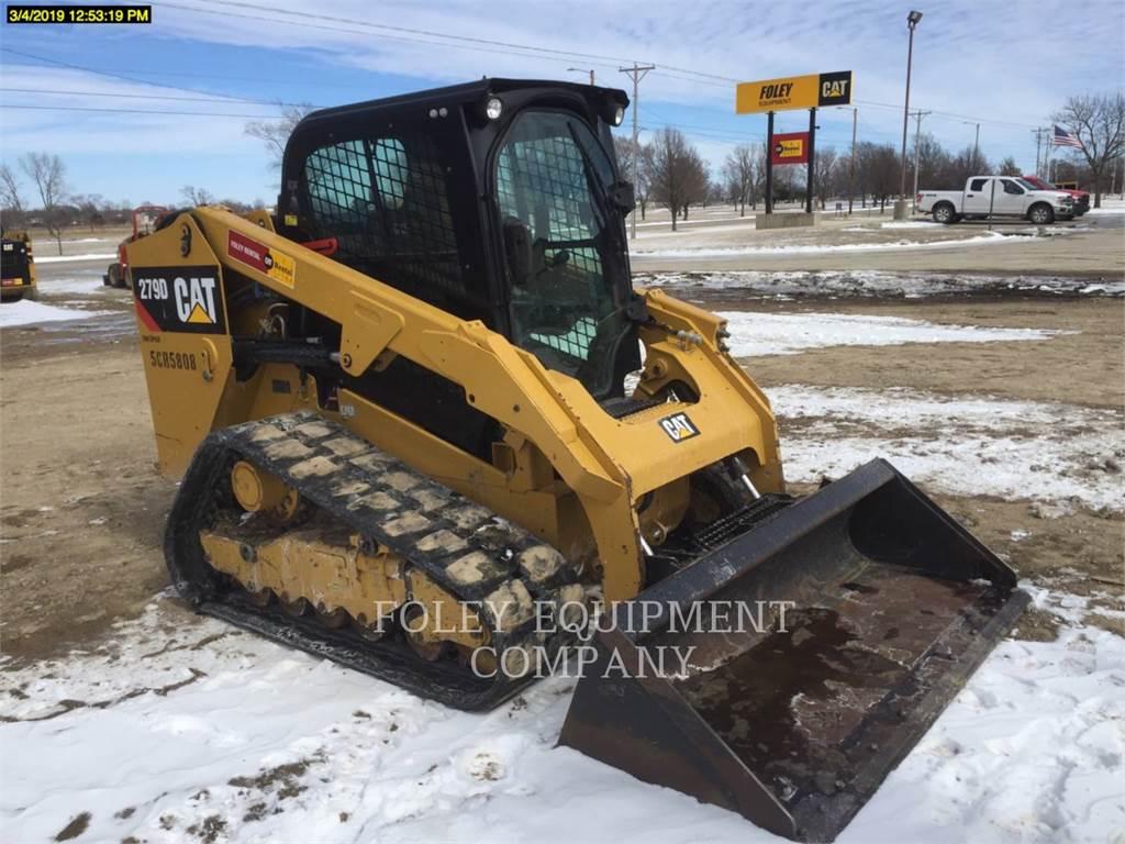 Caterpillar 279DSTD2CA、スキッドステアローダー、建設