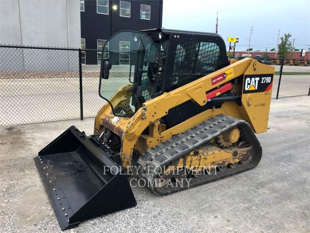 Caterpillar 279DSTD2CA、滑移装载机、建筑设备