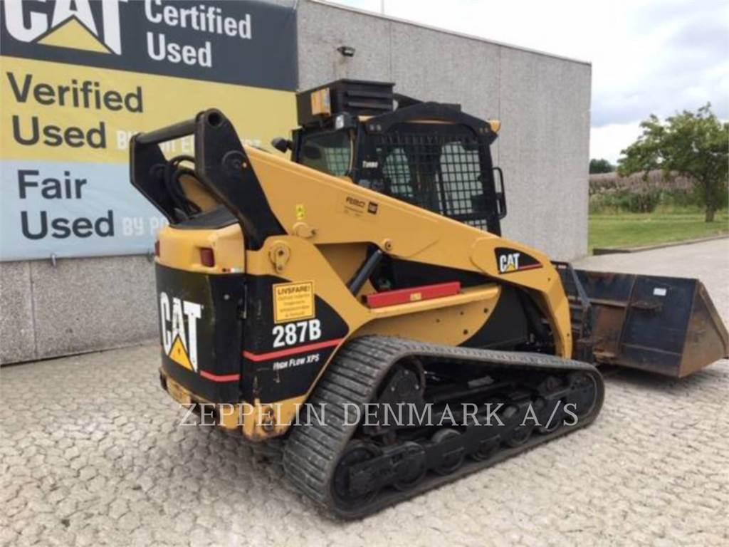 Caterpillar 287 B XPS, Skid Steer Loaders, Construction