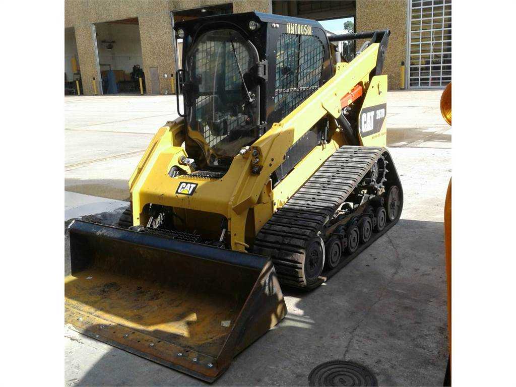 Caterpillar 287 D, Skid Steer Loaders, Construction