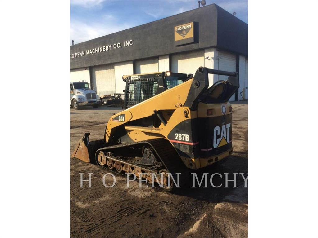 Caterpillar 287B, Skid Steer Loaders, Construction