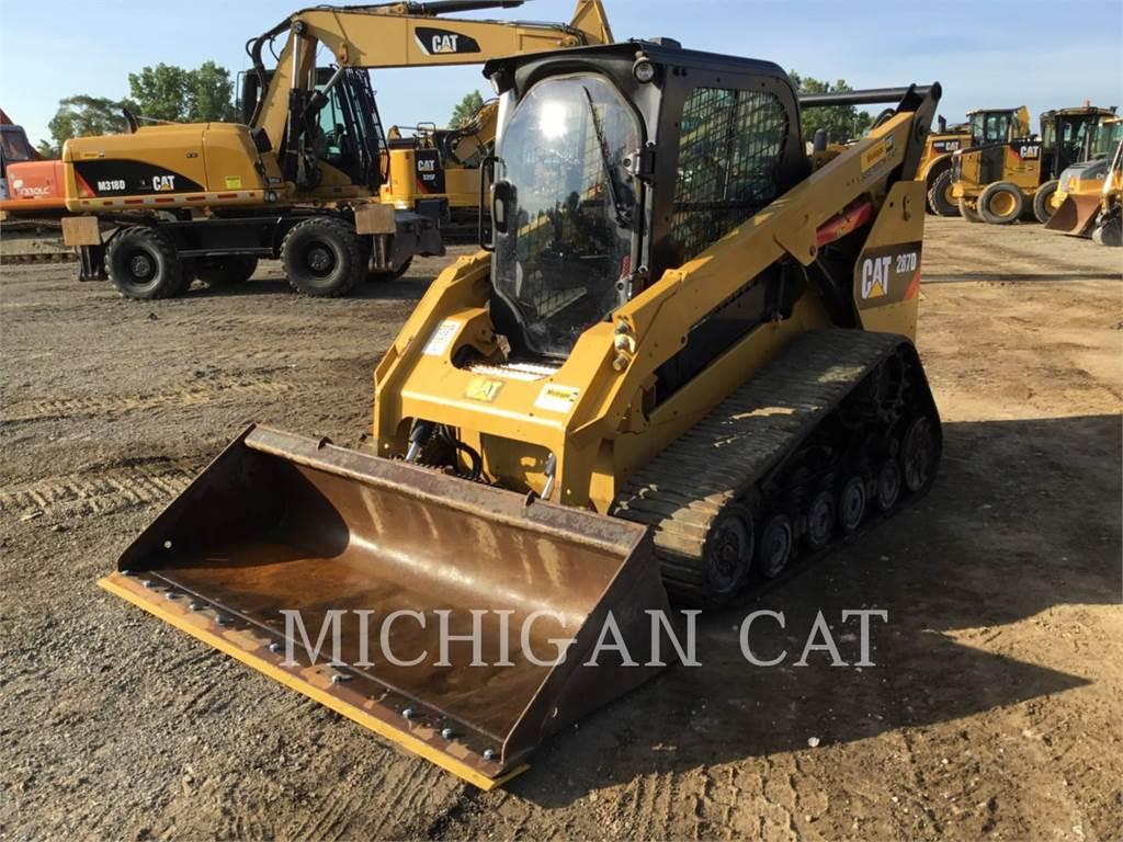Caterpillar 287D, Kompaktlader, Bau-Und Bergbauausrüstung