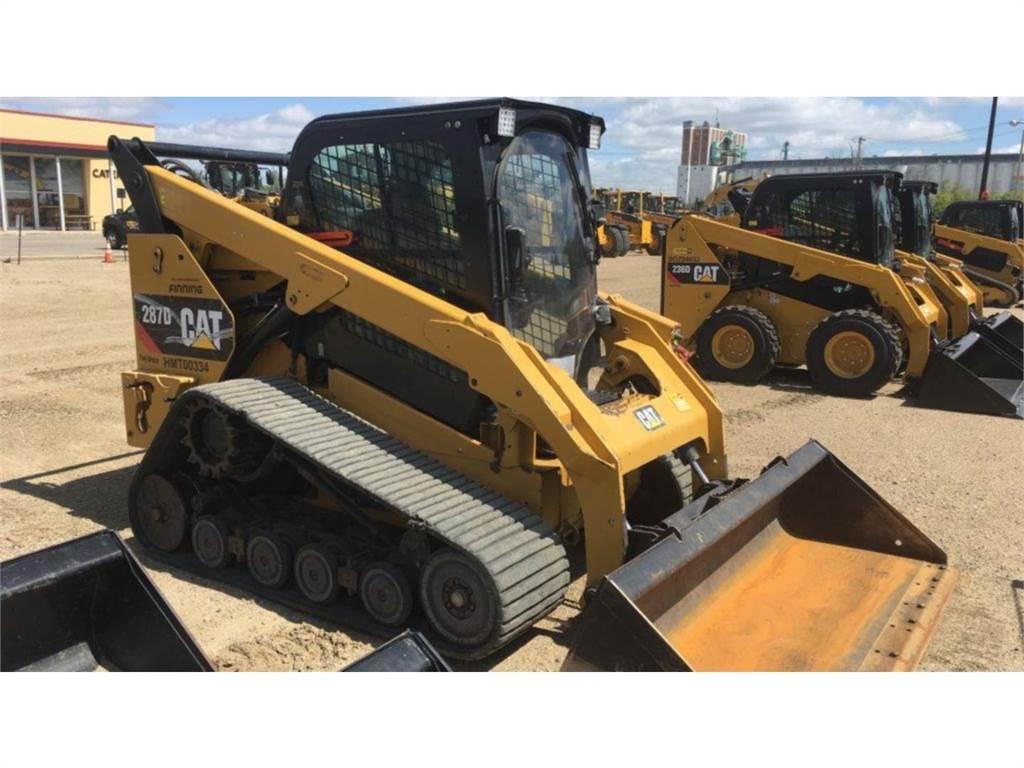 Caterpillar 287D, Skid Steer Loaders, Construction