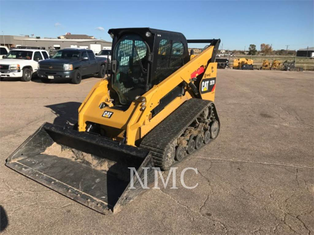 Caterpillar 287D, Mini incarcator, Constructii