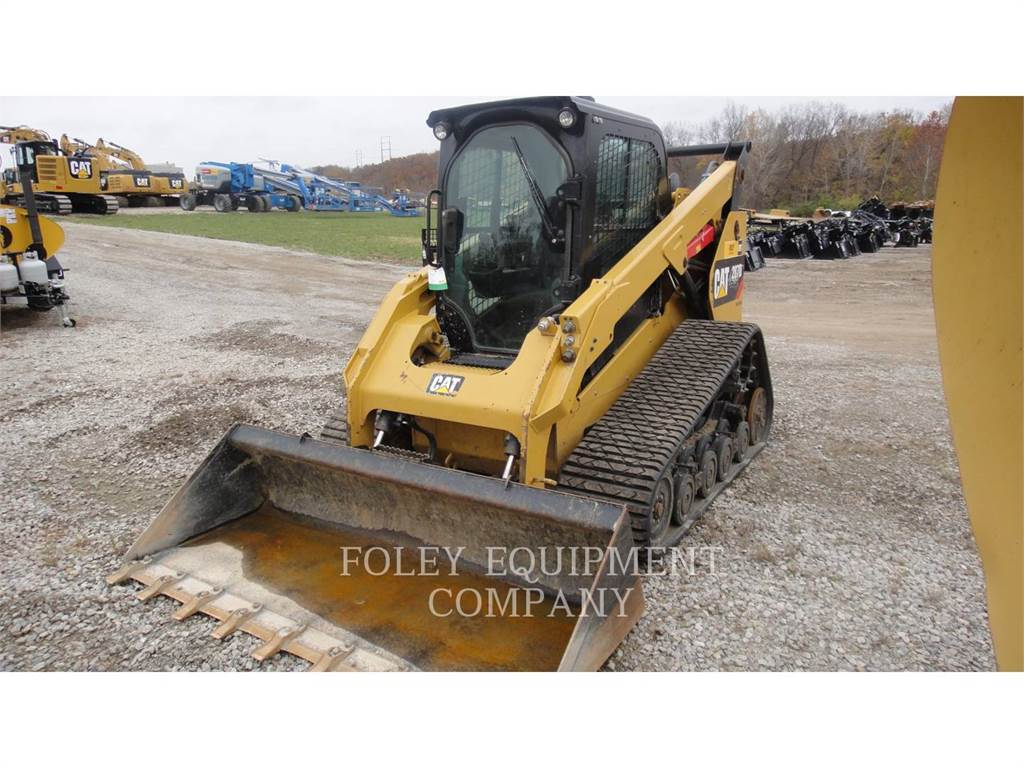 Caterpillar 287DSTD2CA, Skid Steer Loaders, Construction