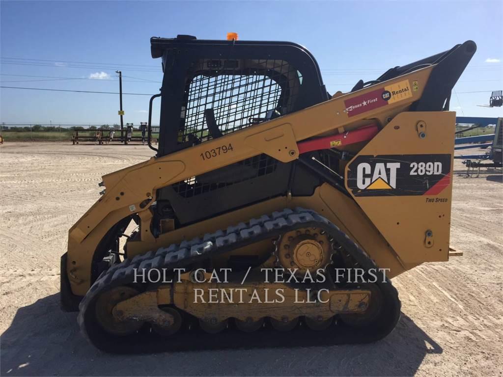 Caterpillar 289 D、スキッドステアローダー、建設