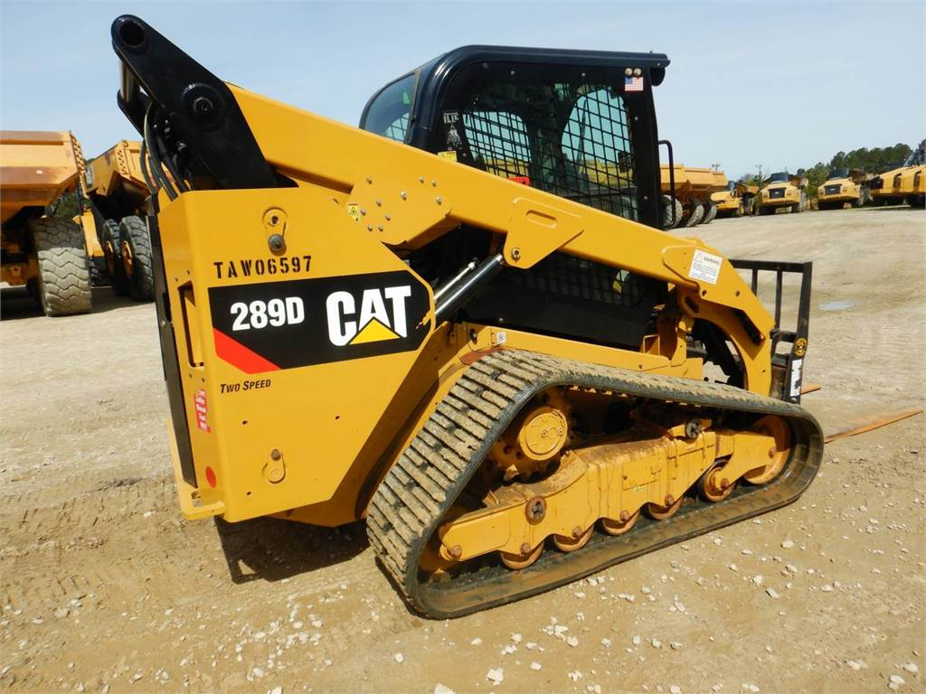 Caterpillar 289 D, Skid Steer Loaders, Construction