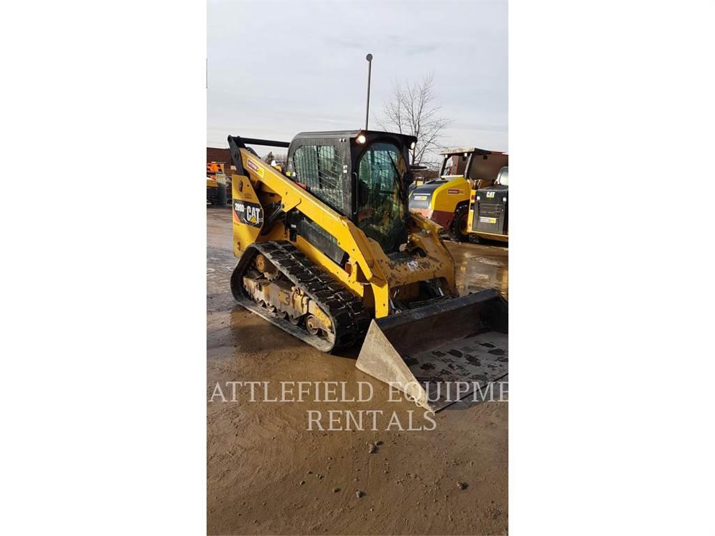 Caterpillar 289 D, Minicargadoras, Construcción