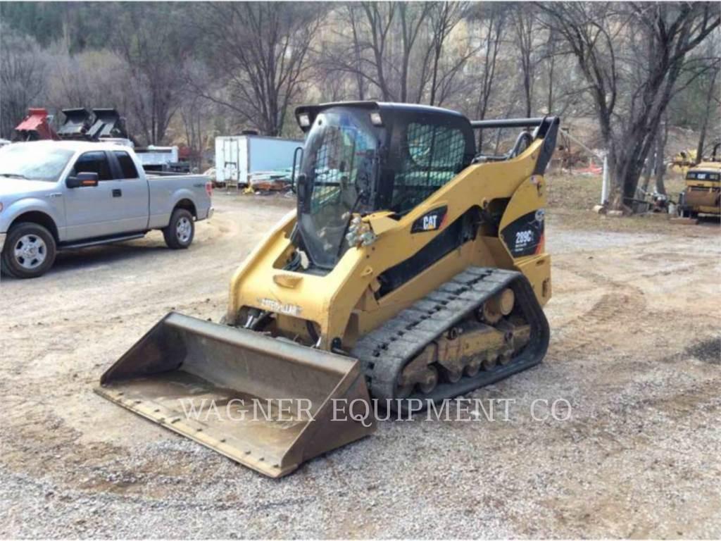 Caterpillar 289C2, Skid Steer Loaders, Construction