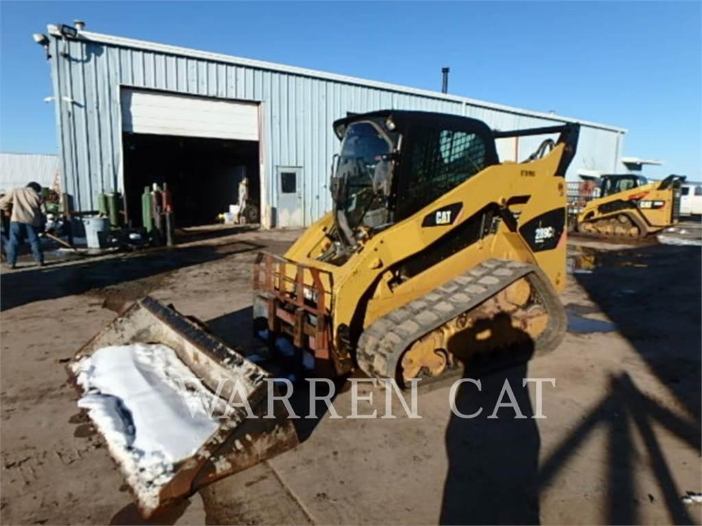 Caterpillar 289C2, track loaders, Construction