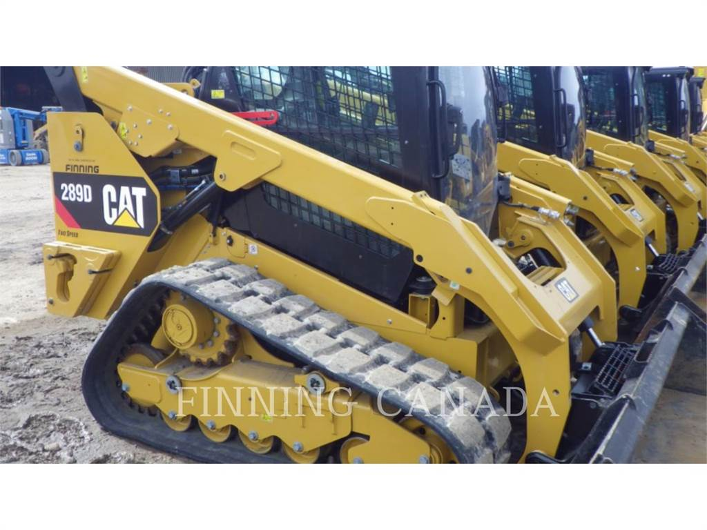 Caterpillar 289D, Chargeuse compacte, Équipement De Construction
