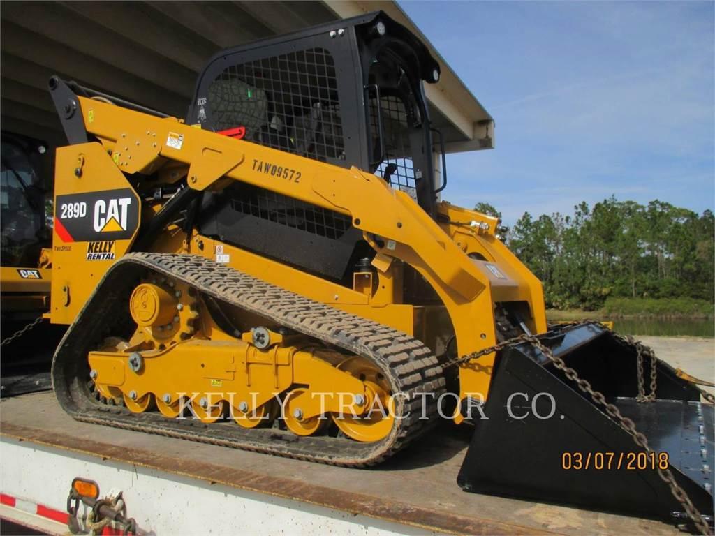 Caterpillar 289D, Mini ładowarki, Sprzęt budowlany