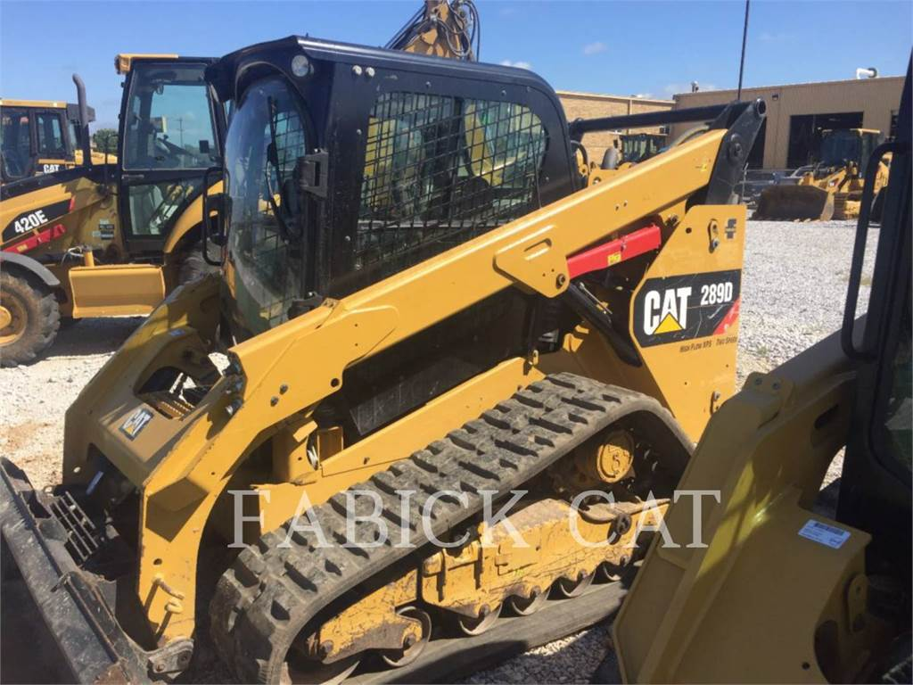 Caterpillar 289D, Skid Steer Loaders, Construction