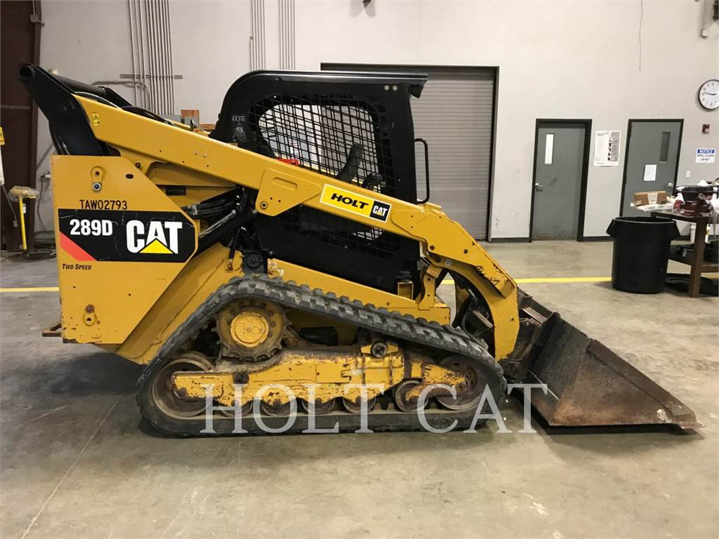 Caterpillar 289D, Mini incarcator, Constructii