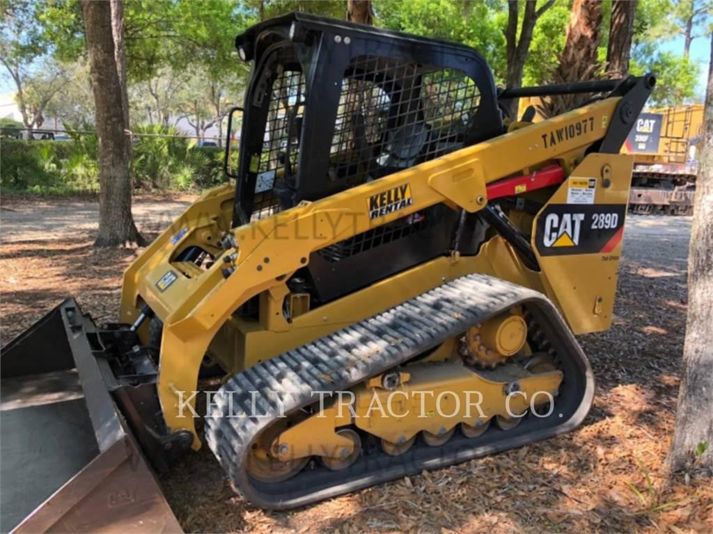 Caterpillar 289D, Mini incarcator, Constructii