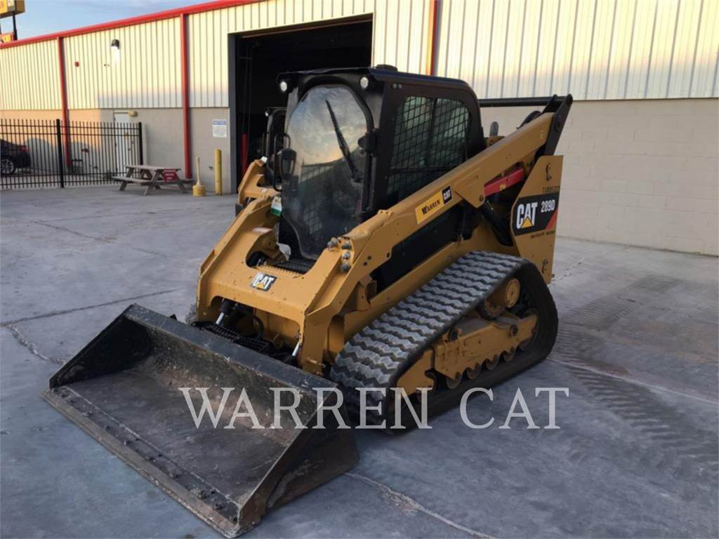 Caterpillar 289D、履带式装载机、建筑设备