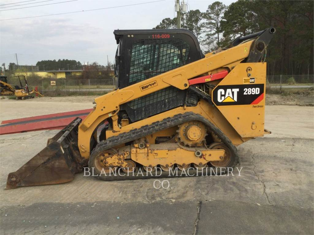 Caterpillar 289D, track loaders, Construction