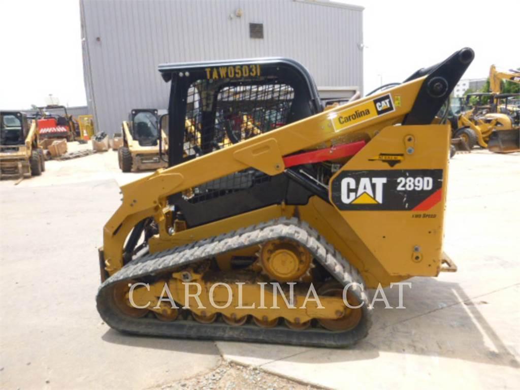 Caterpillar 289D, rupsladers, Bouw