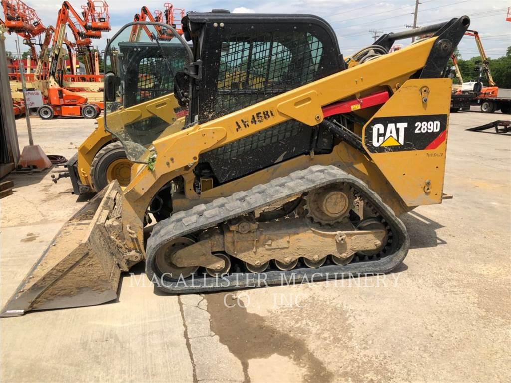 Caterpillar 289D, Skid Steer Loaders, Construction
