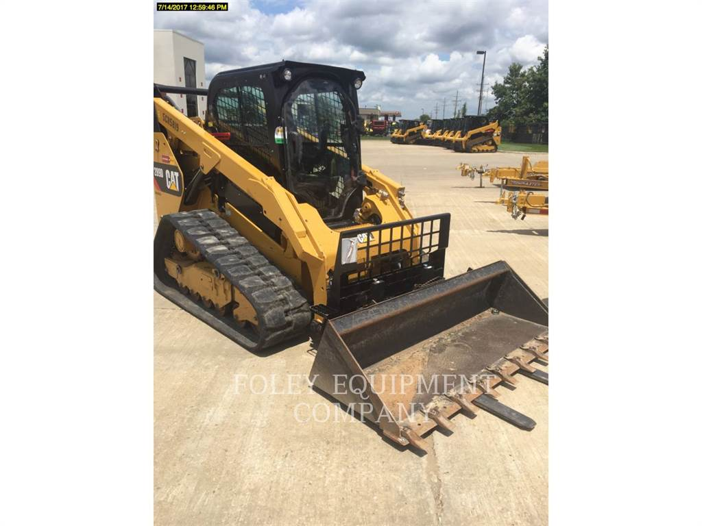 Caterpillar 289D, Kompaktlader, Bau-Und Bergbauausrüstung