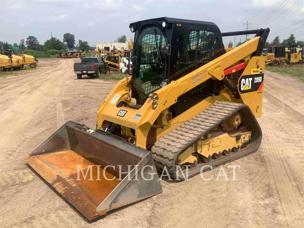 Caterpillar 289D A2Q, Skid Steer Loaders, Construction