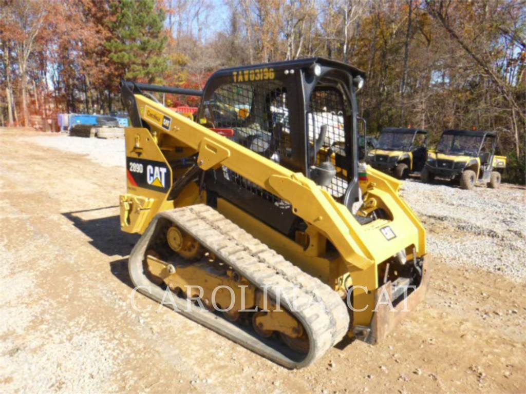 Caterpillar 289D, Minicargadoras, Construcción