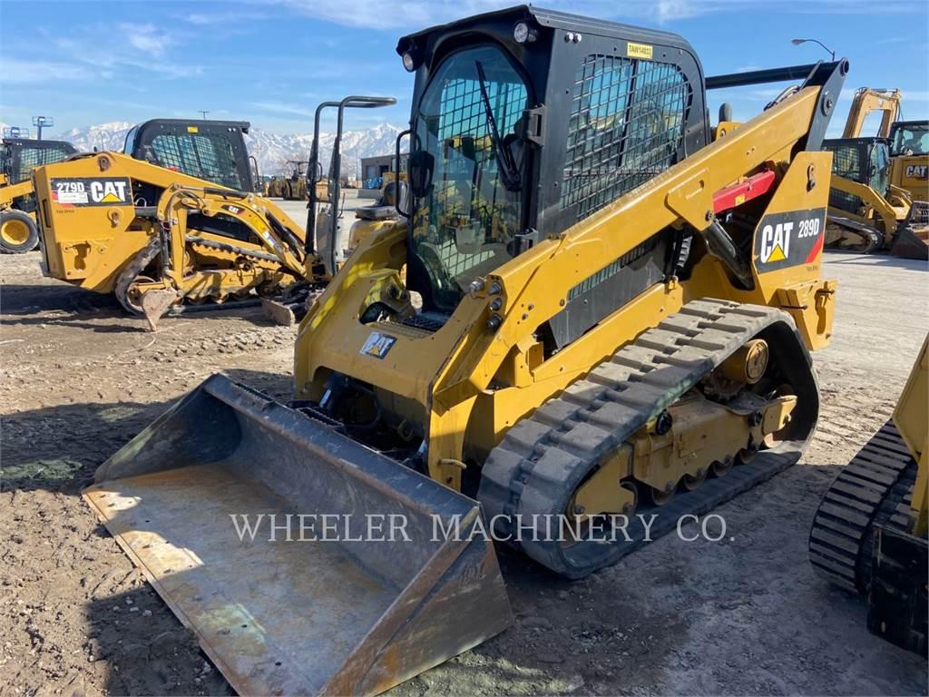 Caterpillar 289D C3-H2, Skid Steer Loaders, Construction