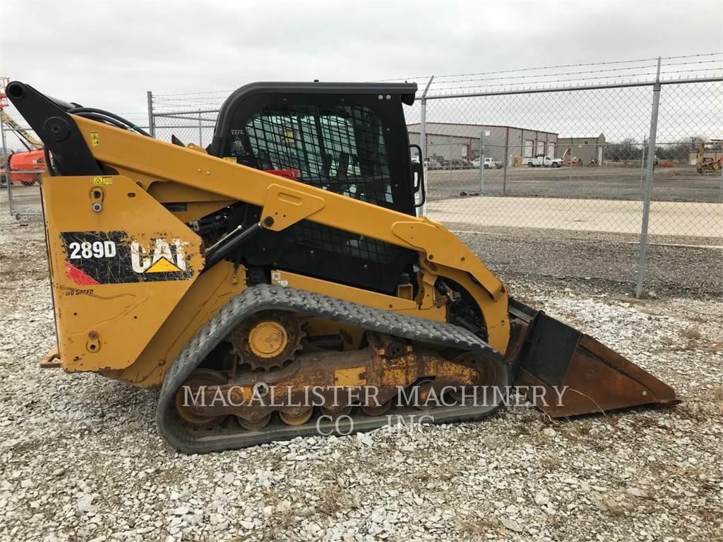 Caterpillar 289D、スキッドステアローダー、建設