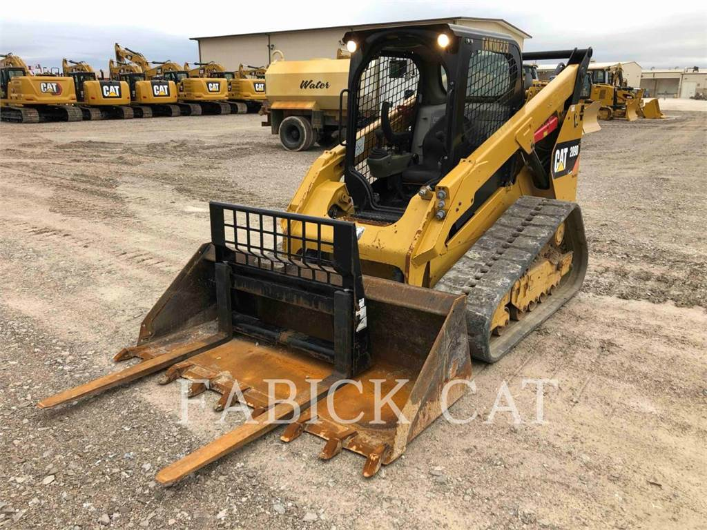 Caterpillar 289D、滑移装载机、建筑设备