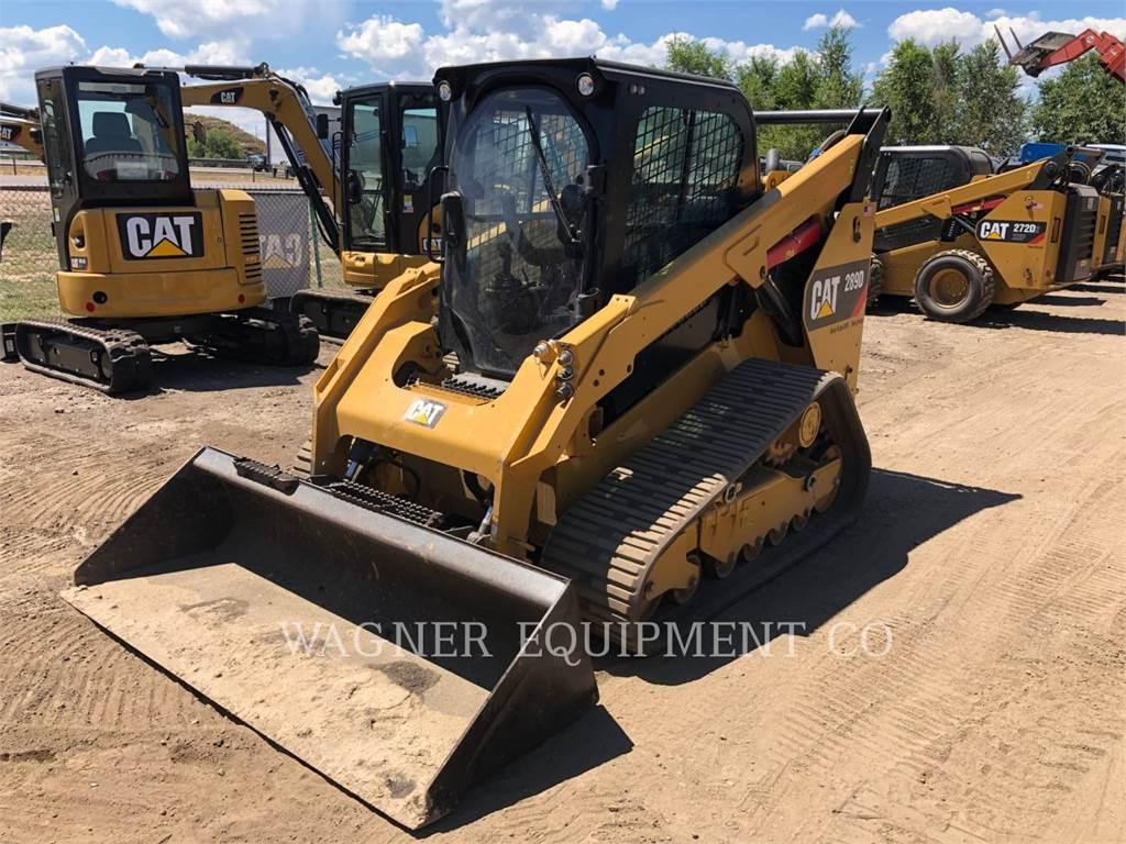 Caterpillar 289D HF, Kompaktlader, Bau-Und Bergbauausrüstung