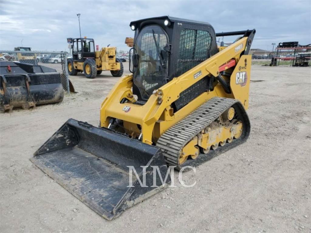 Caterpillar 289D3, track loaders, Construction