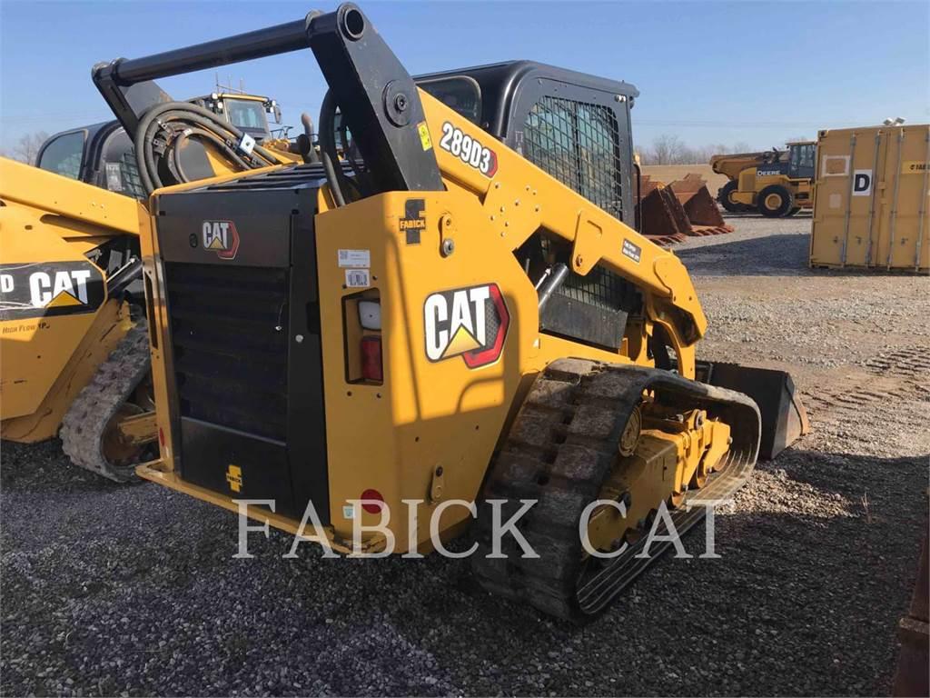 Caterpillar 289D3 C3H3, Skid Steer Loaders, Construction