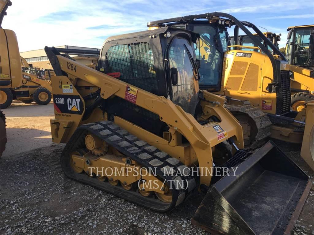 Caterpillar 289DHF, Kompaktlader, Bau-Und Bergbauausrüstung