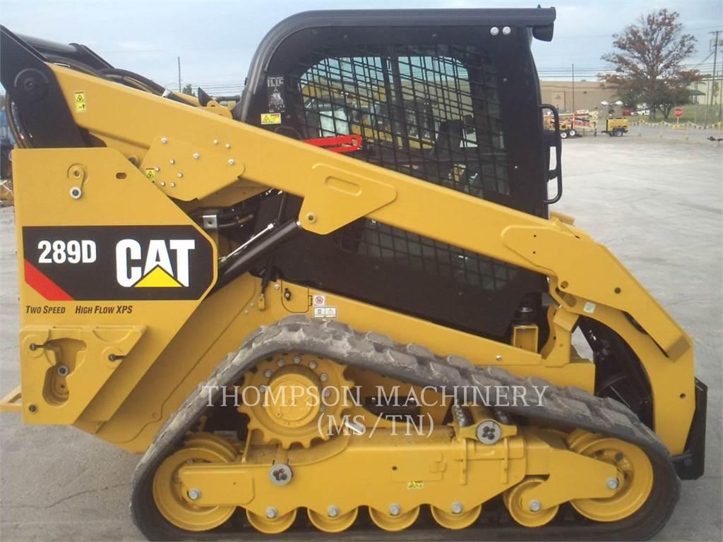 Caterpillar 289DHF, Minicargadoras, Construcción