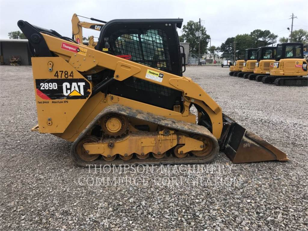 Caterpillar 289DHF, Skid Steer Loaders, Construction