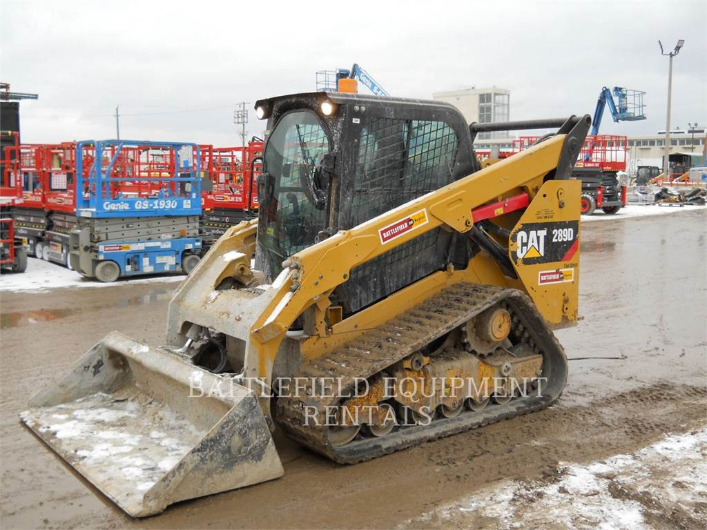 Caterpillar 289DLRC, Skid Steer Loaders, Construction