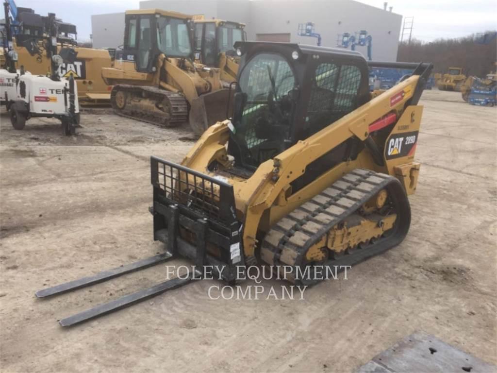 Caterpillar 289DSTD2CA, Carregadoras de direcção deslizante, Equipamentos Construção