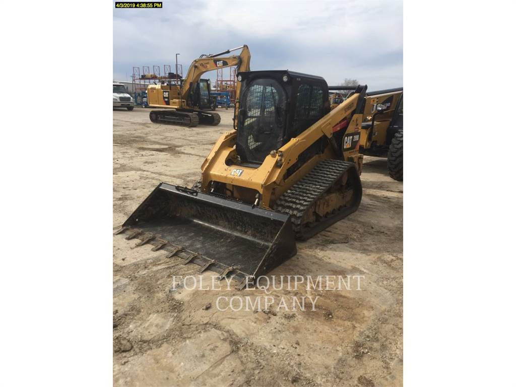 Caterpillar 289DXPS2CA, Carregadoras de direcção deslizante, Equipamentos Construção