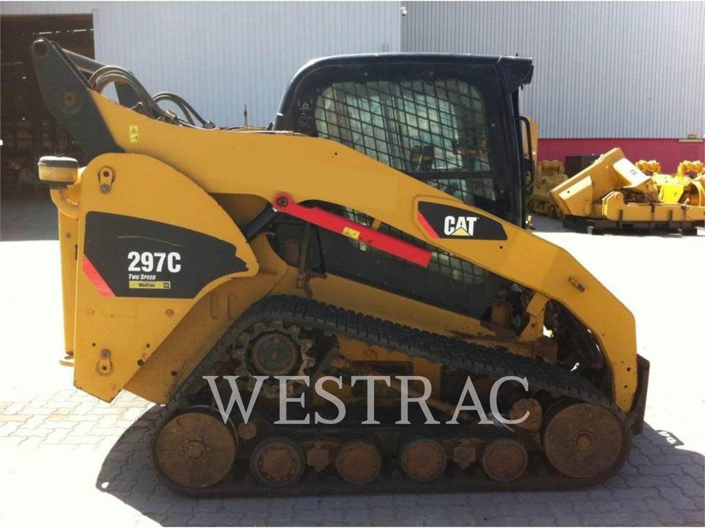 Caterpillar 297C, Kompaktlader, Bau-Und Bergbauausrüstung
