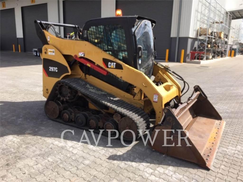 Caterpillar 297C, Chargeuse compacte, Équipement De Construction