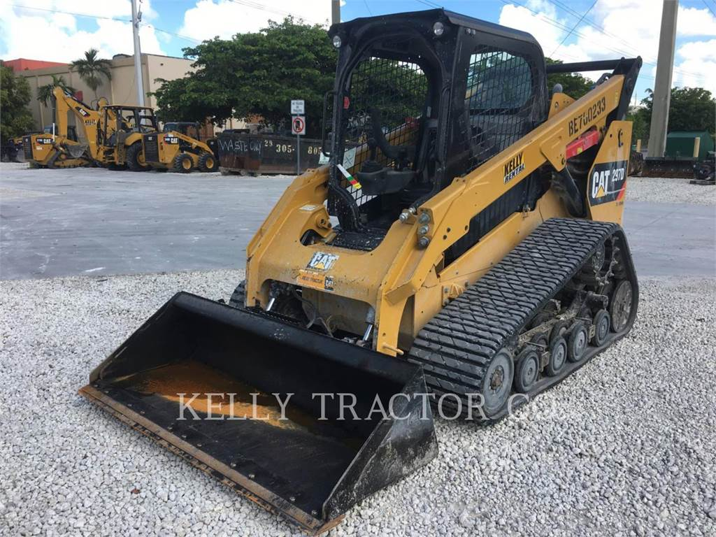 Caterpillar 297D, Skid Steer Loaders, Construction