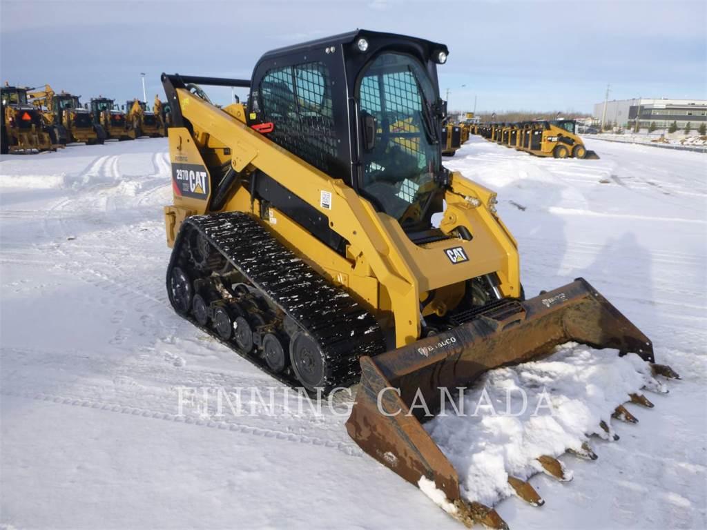 Caterpillar 297D, Skid Steer Loaders, Construction