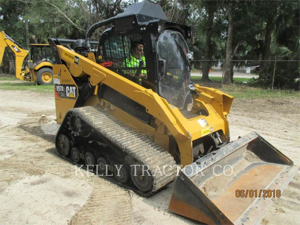 Caterpillar 297D2XHP, Skid Steer Loaders, Construction