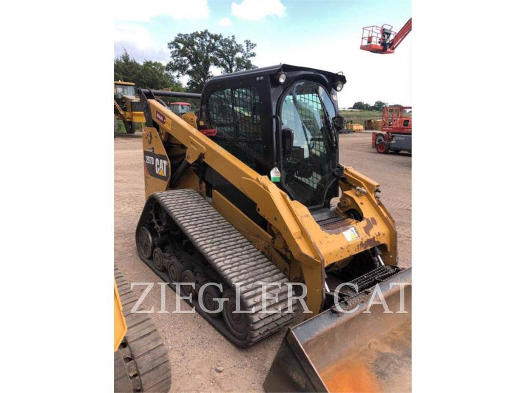 Caterpillar 297DSR, Skid Steer Loaders, Construction