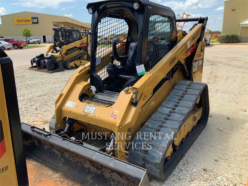 Caterpillar 299, track loaders, Construction