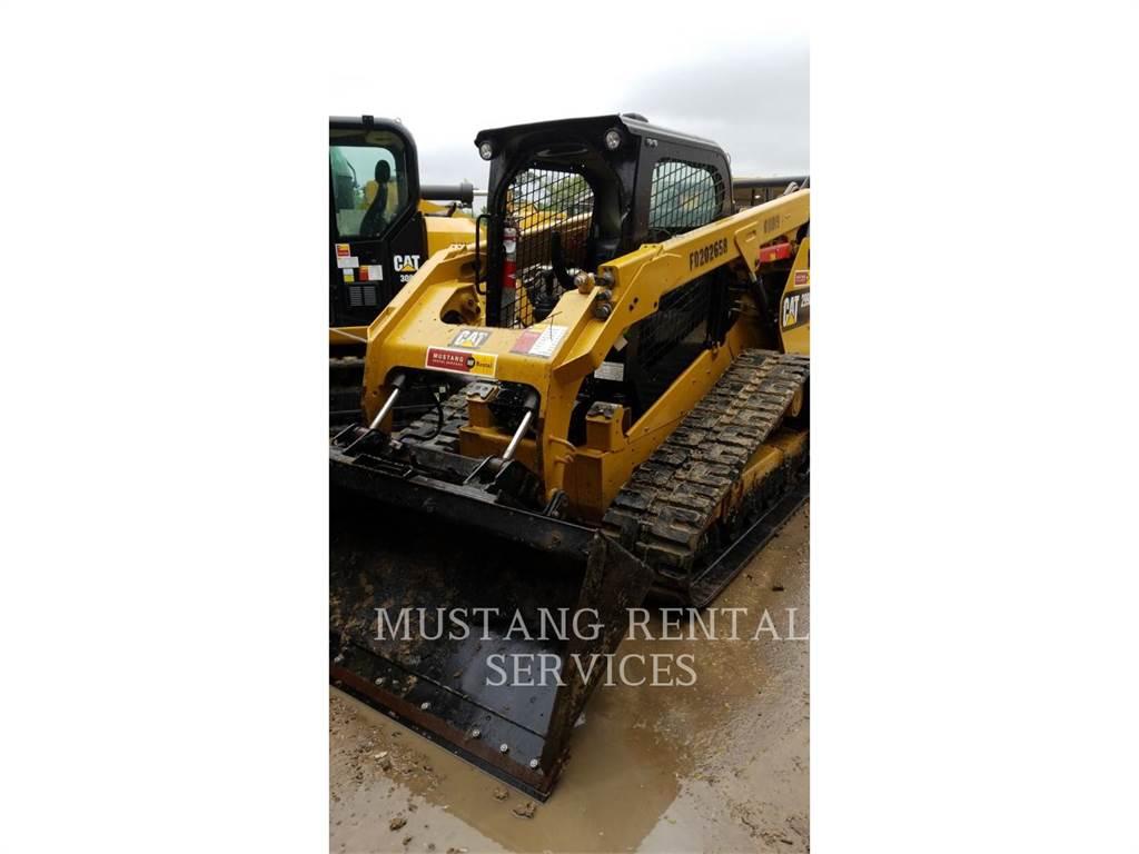 Caterpillar 299、履带式装载机、建筑设备