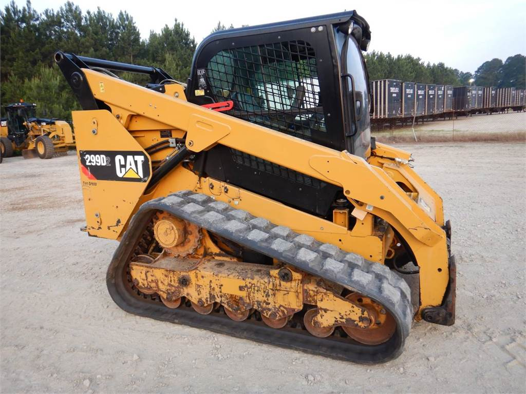 Caterpillar 299 D 2, Skid Steer Loaders, Construction