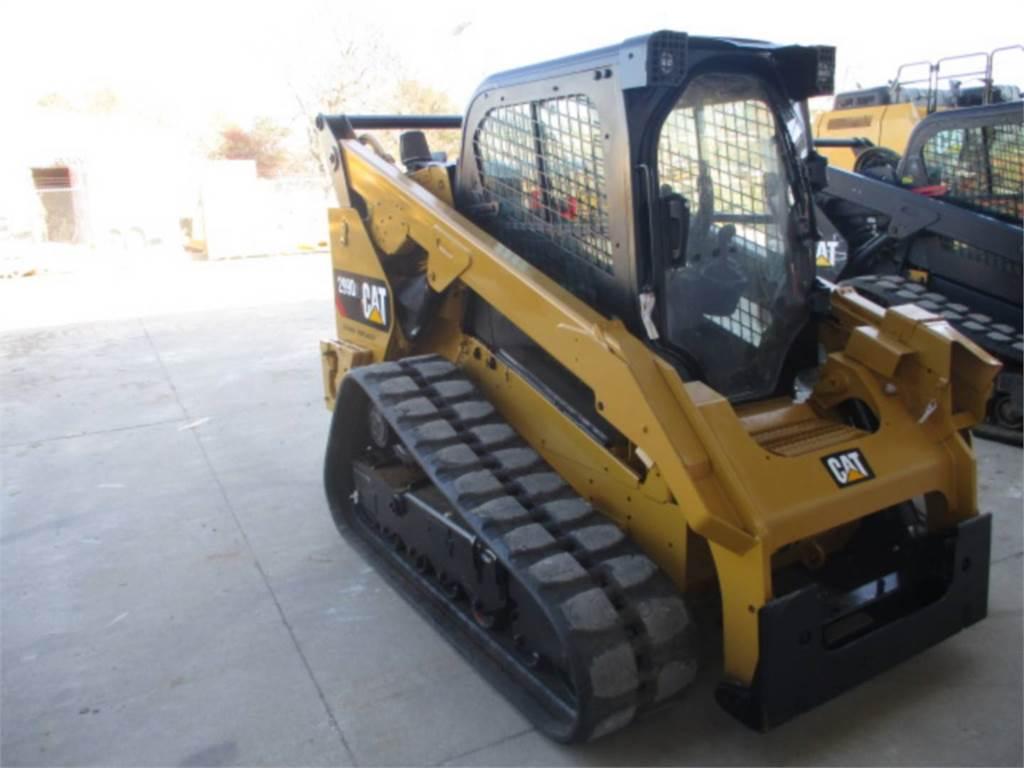 Caterpillar 299 D 2, Carregadoras de direcção deslizante, Equipamentos Construção